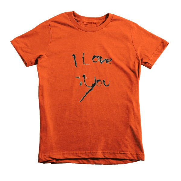 I Love You kids t-shirt - Finnigan Note - 4