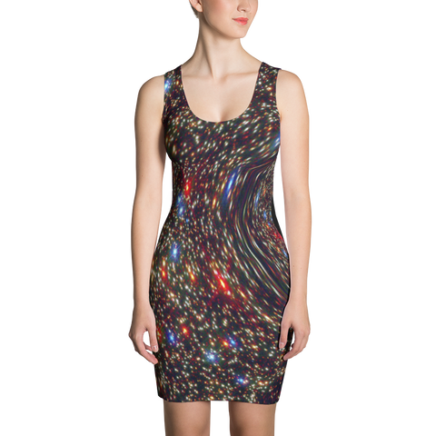 Black Hole Holiday Dress - Finnigan Note - 1