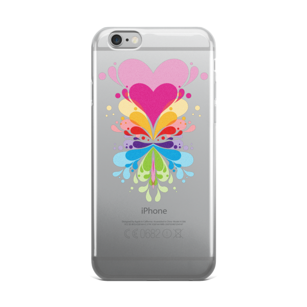 Expansive Hearts iPhone case - Finnigan Note - 1
