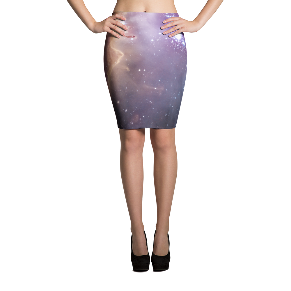 Wings of Love Pencil Skirt - Finnigan Note - 1