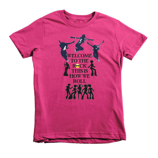 Welcome to the Rock Kids T-shirt - Finnigan Note - 8