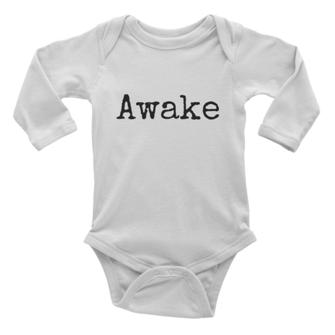 Awake Infant long sleeve one-piece - Finnigan Note - 1