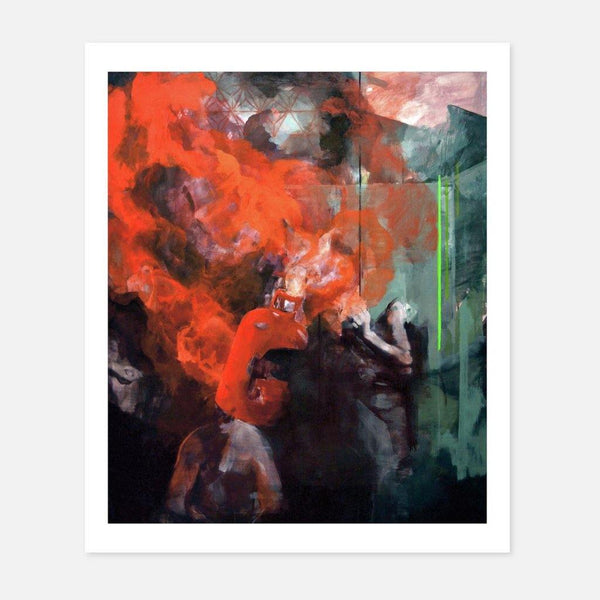 Aimee Melaugh,Shelter,fierce-nice,Giclée