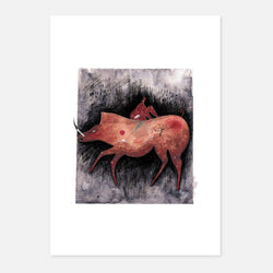 Bronagh Lee,Survival,fierce-nice,Giclée