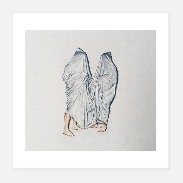 Ciana Fitzgerald,Holding Hands in Secret,fierce-nice,Giclée.