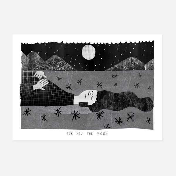 Conor Nolan,For You the Moon,fierce-nice,Giclée