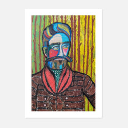 Karen Hickey - The Woodsman - fierce-nice - Giclée