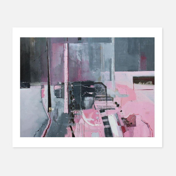 Martina Furlong,The Present Moment in Pink and Grey,fierce-nice,Giclée