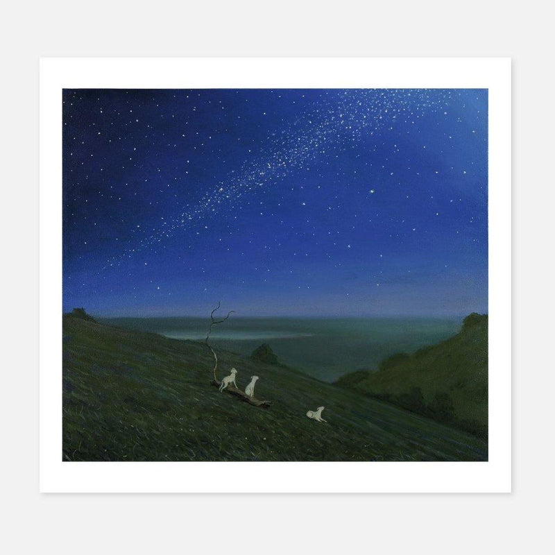 Robert Ryan,Stargazing,fierce-nice,Giclée