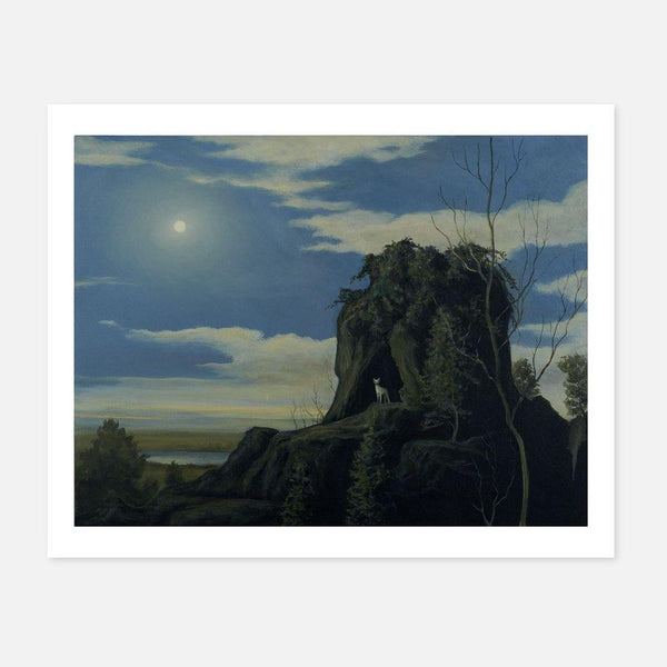 Robert Ryan,The Cave Dweller,fierce-nice,Giclée