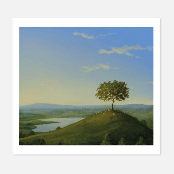 Robert Ryan,The Hilltop,fierce-nice,Giclée