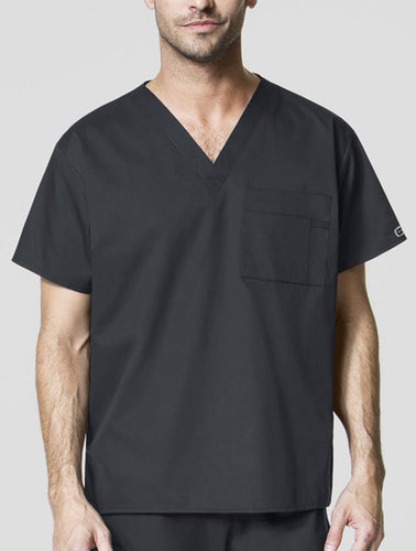 (100) TLU Mens Scrub Top