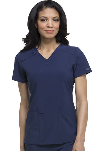 (DK615) Tejas Health Care - V Neck Top