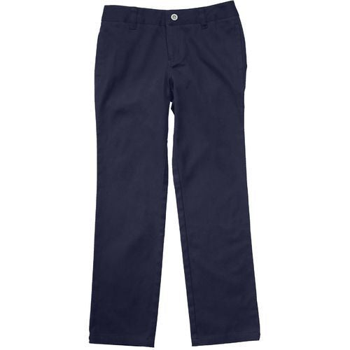GIRLS NAVY STRAIGHT LEG PANT