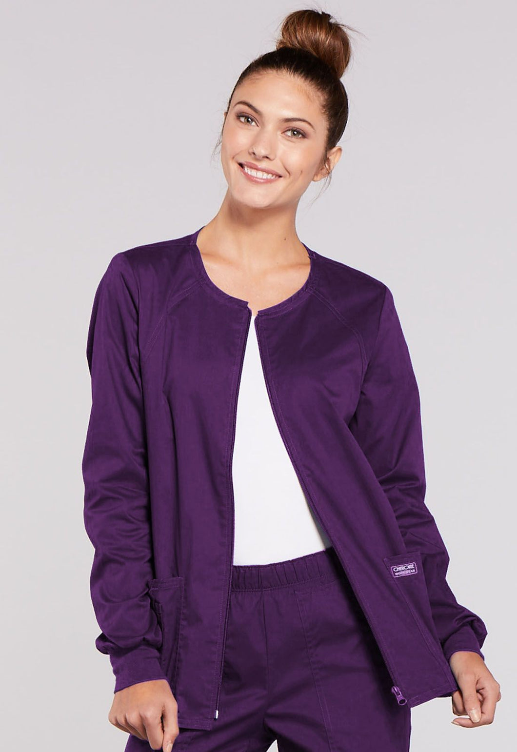 (4315) Core Stretch Zip-up Jacket