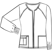 Load image into Gallery viewer, (4315) Core Stretch Zip-up Jacket