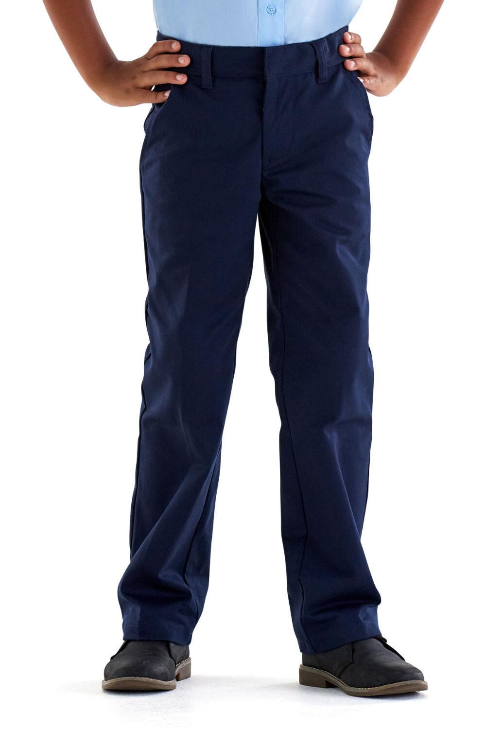 BOYS NAVY DOUBLE KNEE PANT