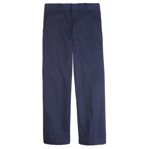 BOYS NAVY PULL ON PANT - TODDLER