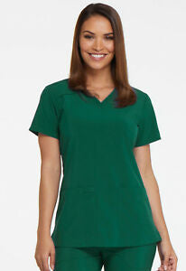 (DK615) Hospice Brazos Valley - Dickies EDS V Neck Top