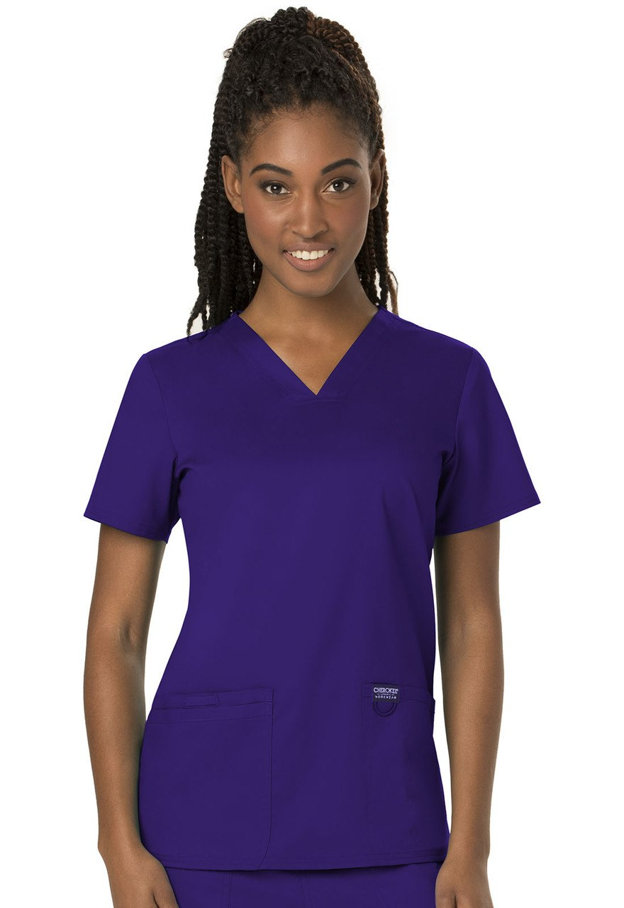 Concordia University Nursing Womens Scrub Top