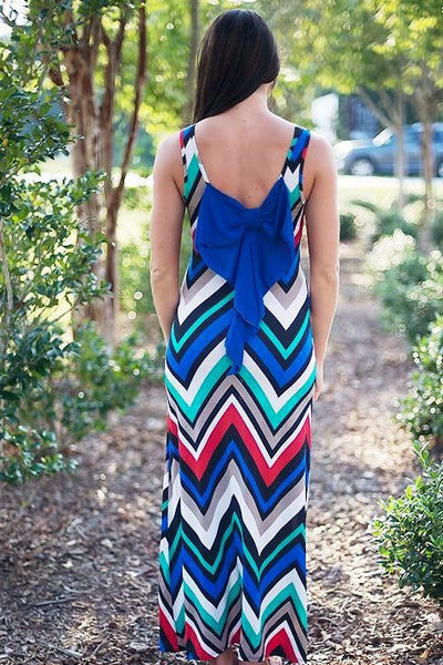 Ann Maxi Dress, Multi