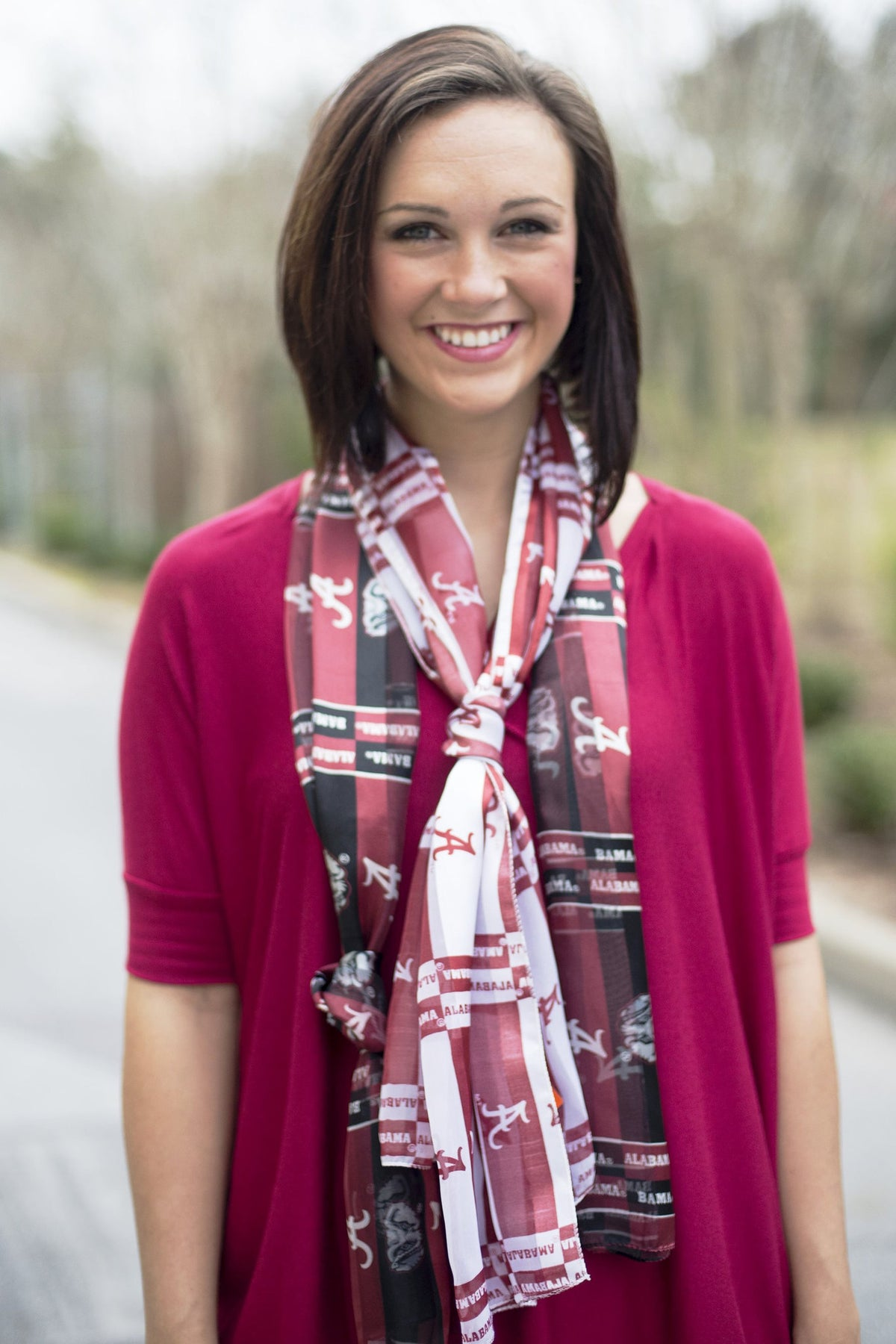 University of Alabama Scarf, Crimson