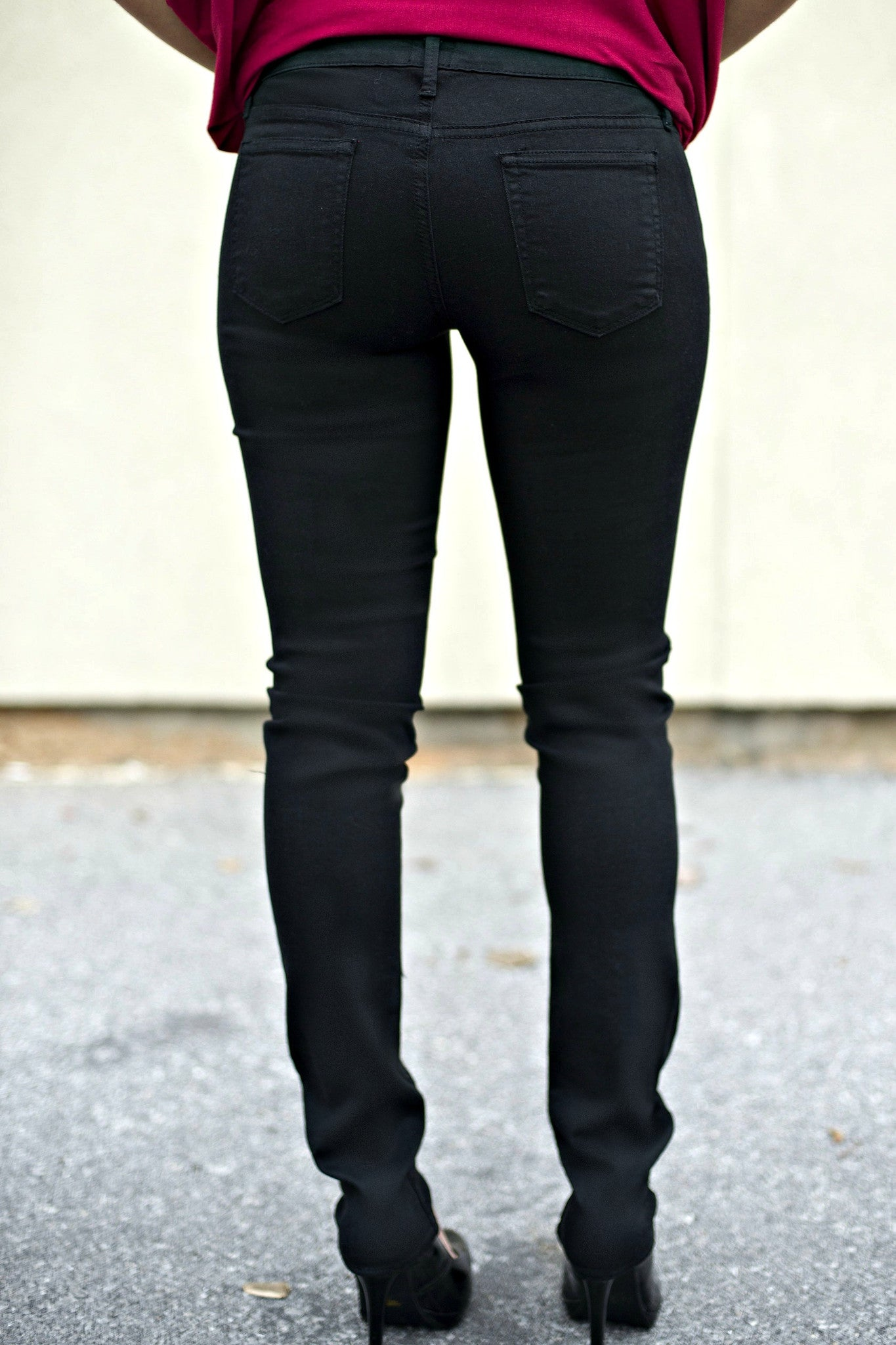 Just Black: Allison Denim, Black