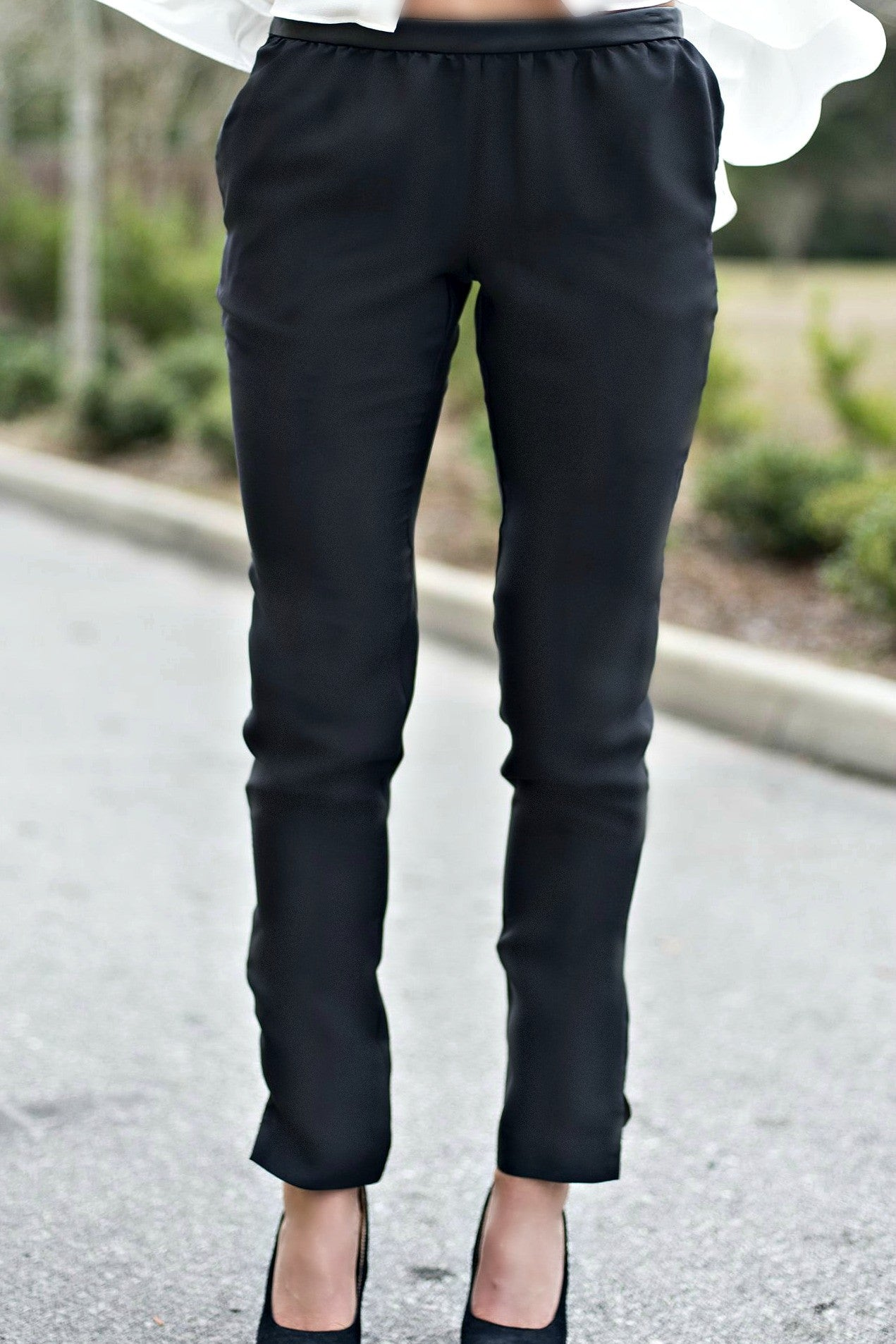 BCBGeneration: Sportswear Pants, Black