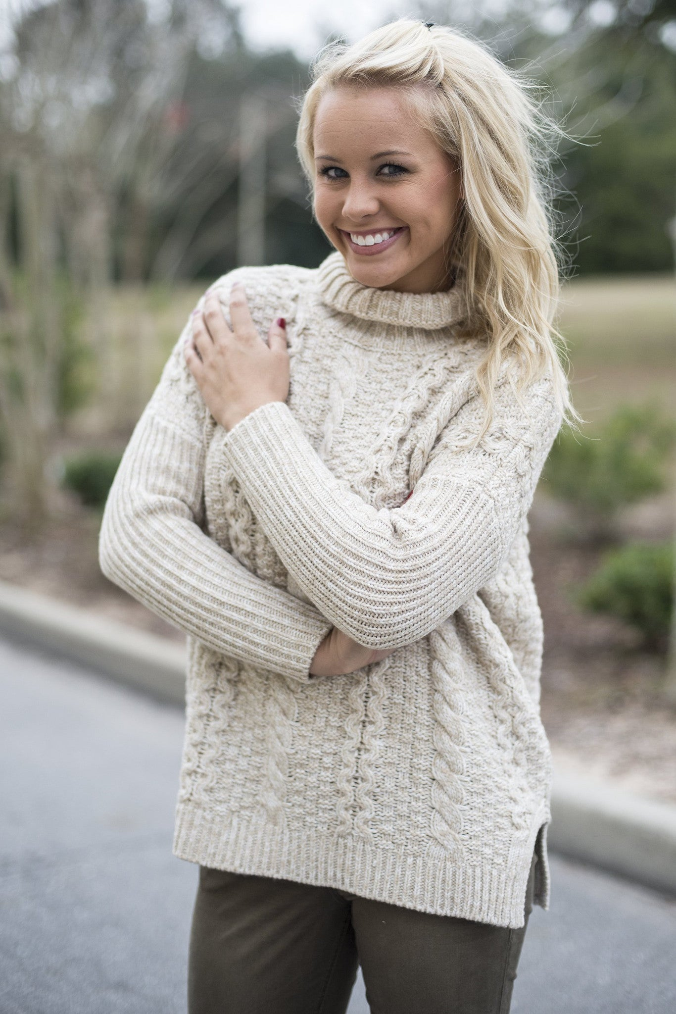 525 America: Brooklyn Top, Ivory