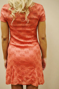 Free People: Brianna Dress, Coral