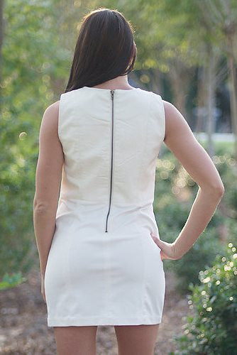 Audrey Dress, White