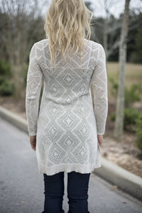 Free People: Sara Cardigan, White