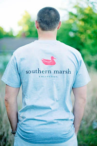 Southern Marsh: Authentic Tee, Gray