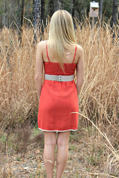 Shelby Dress, Orange