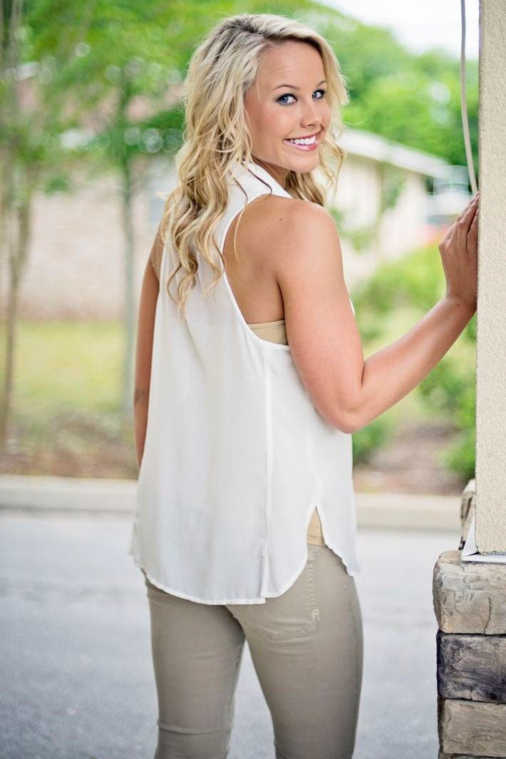 Free People: Lydia Top, Ivory