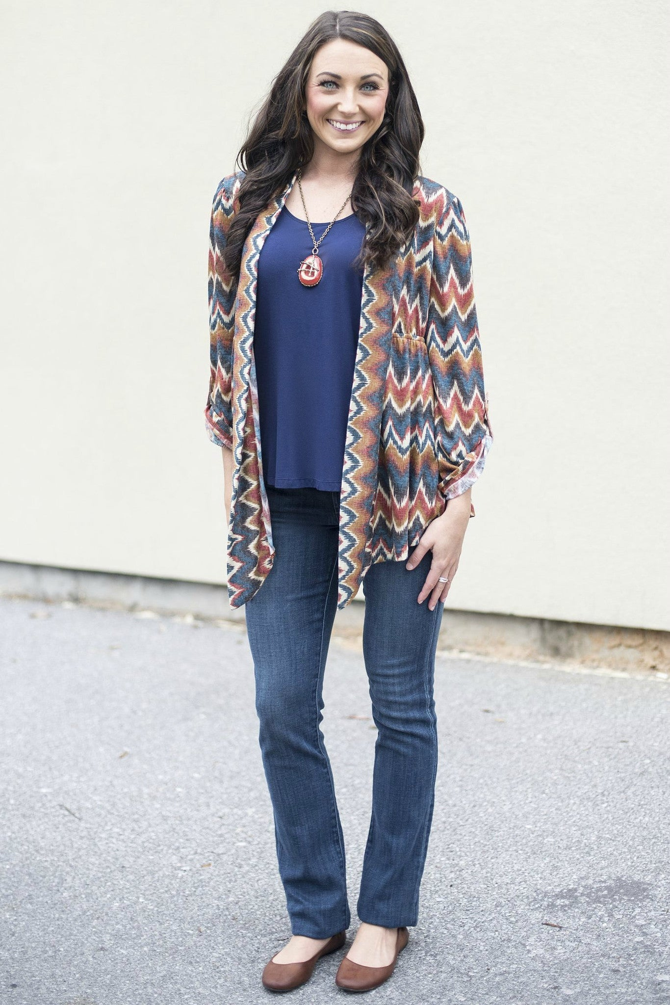 Ivy Jane: Denise Cardigan, Blue