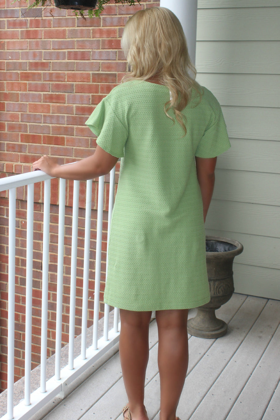 Uncle Frank: Maria Dress, Green