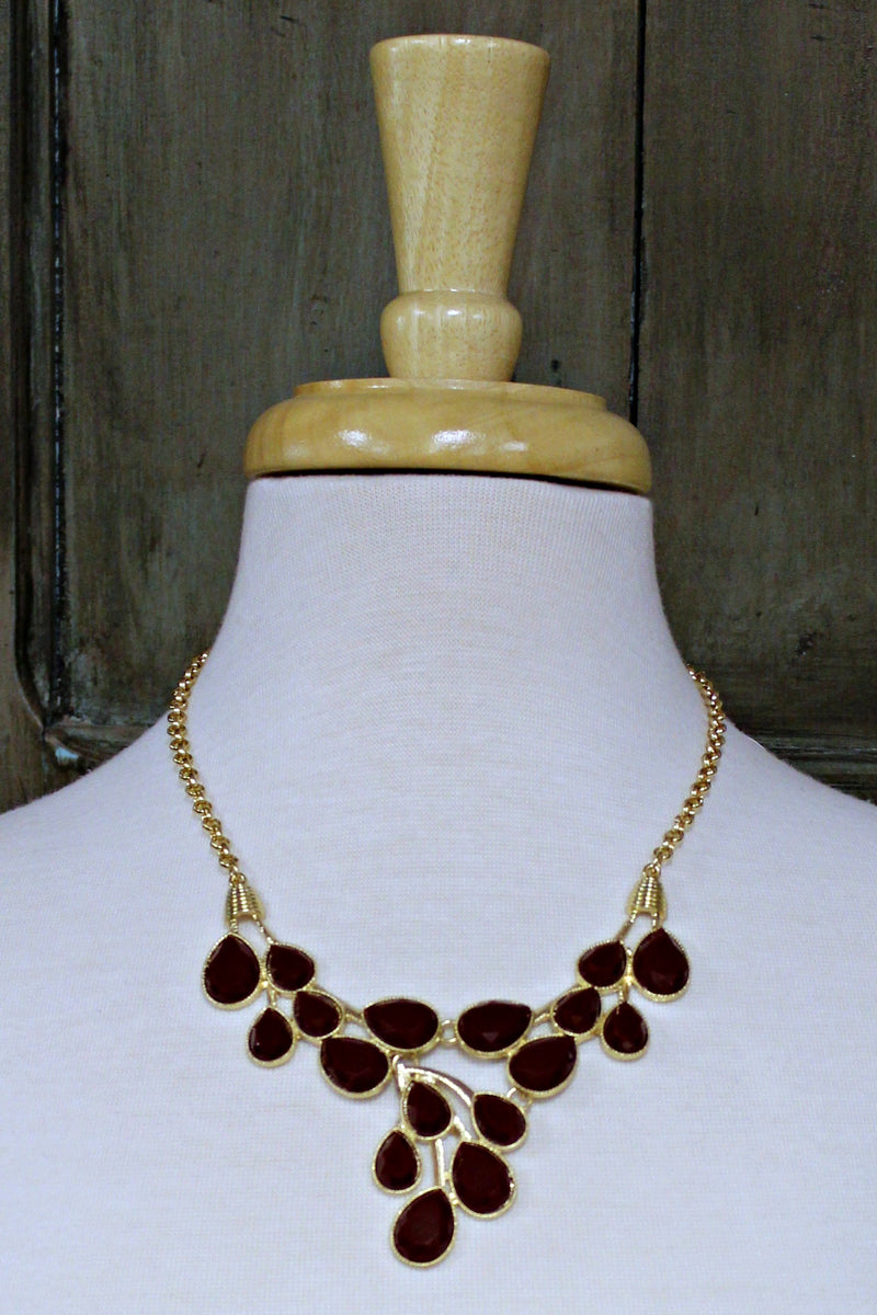 Necklace, Brown