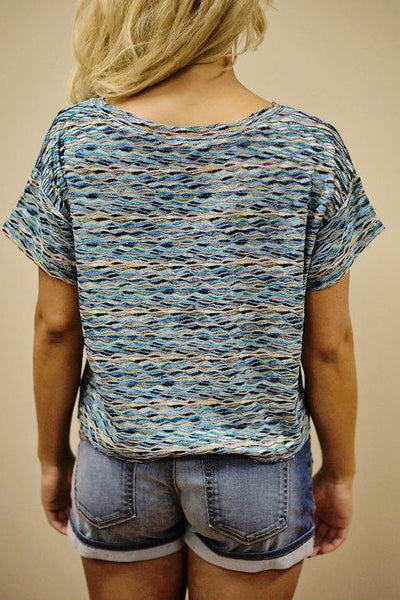 Free People: Paige Top, Blue