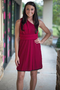Sweet Pea: Konner Dress, Red