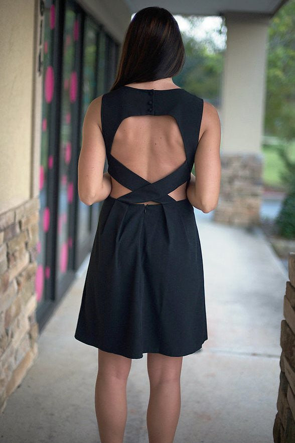 Catherine Dress, Black