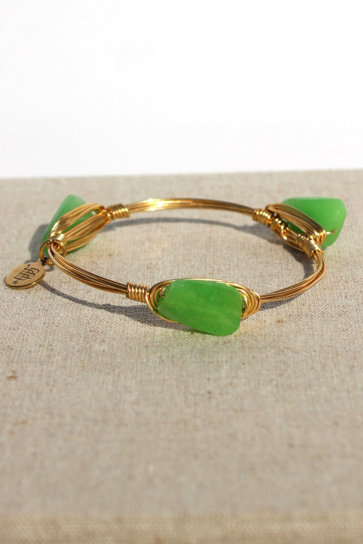 Bourbon and Boweties: Bangle, Green