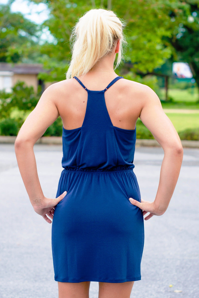 BCBGeneration: Madelyn Dress, Navy