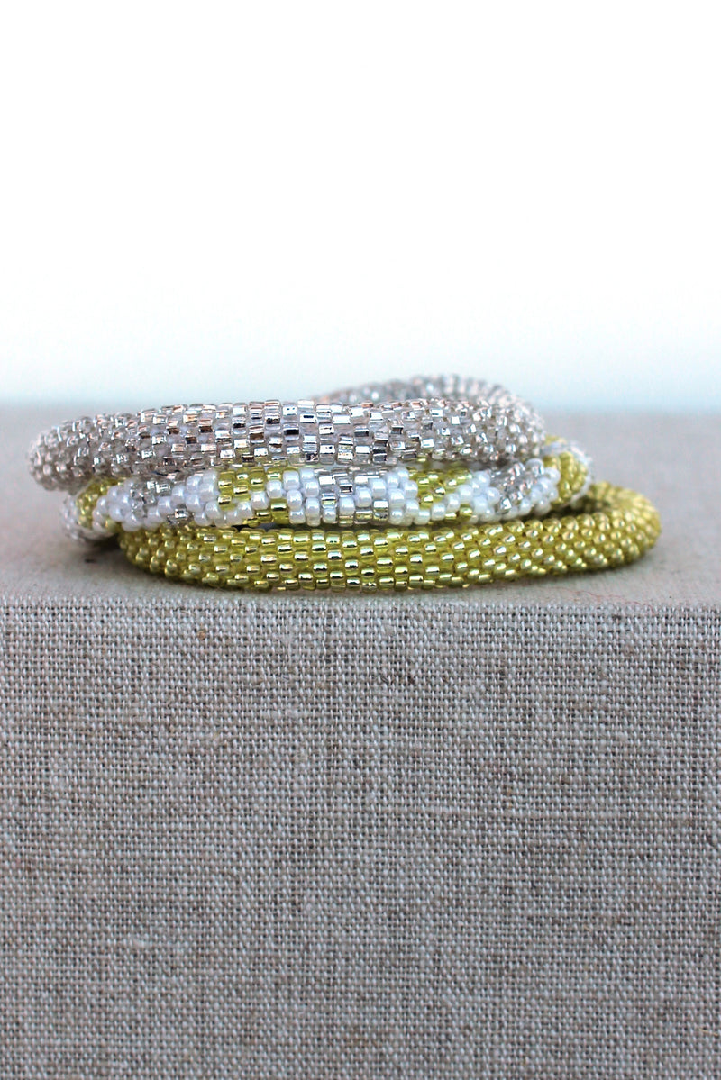 Lily and Laura: Bracelet Set, Yellow