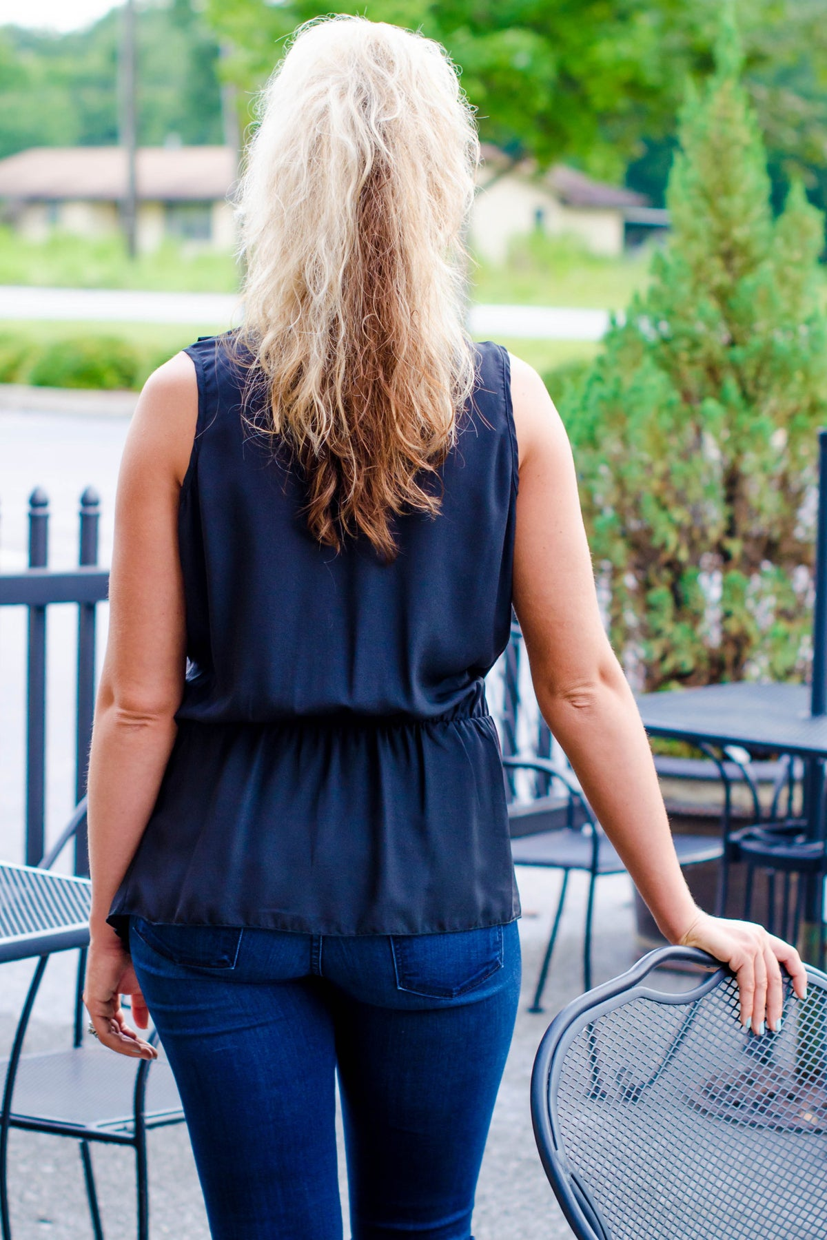 Faith Top, Black