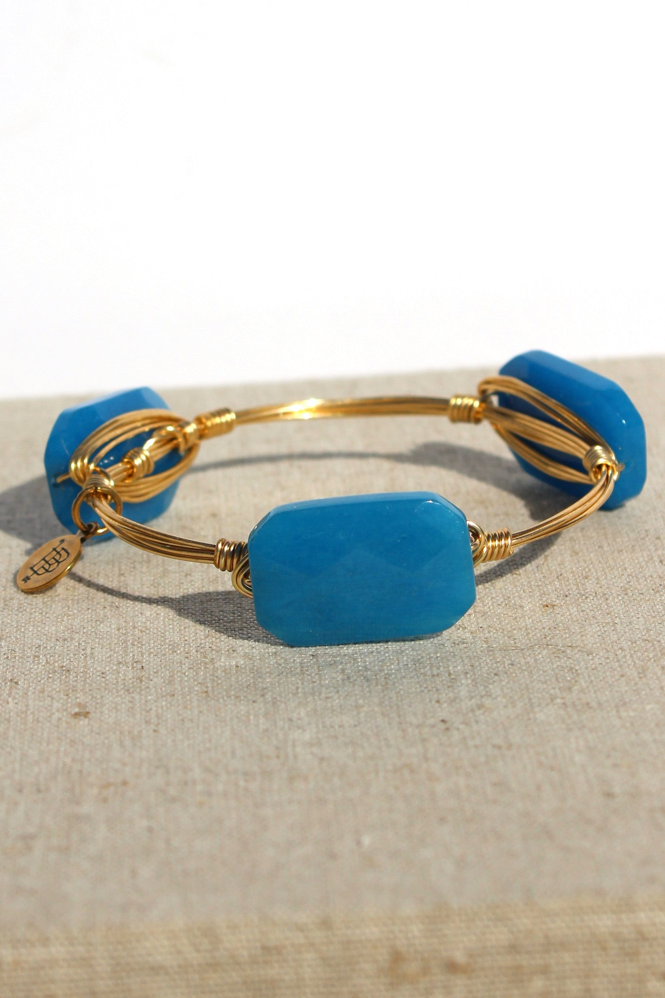 Bourbon and Boweties: Bangle, Blue