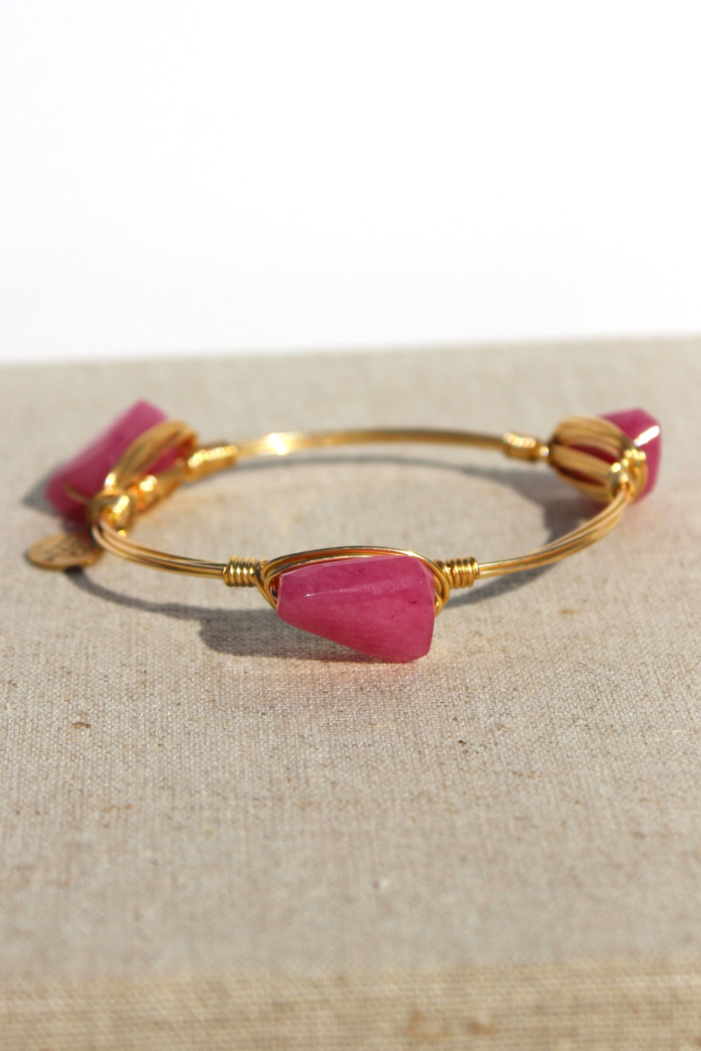 Bourbon and Boweties: Bangle, Pink
