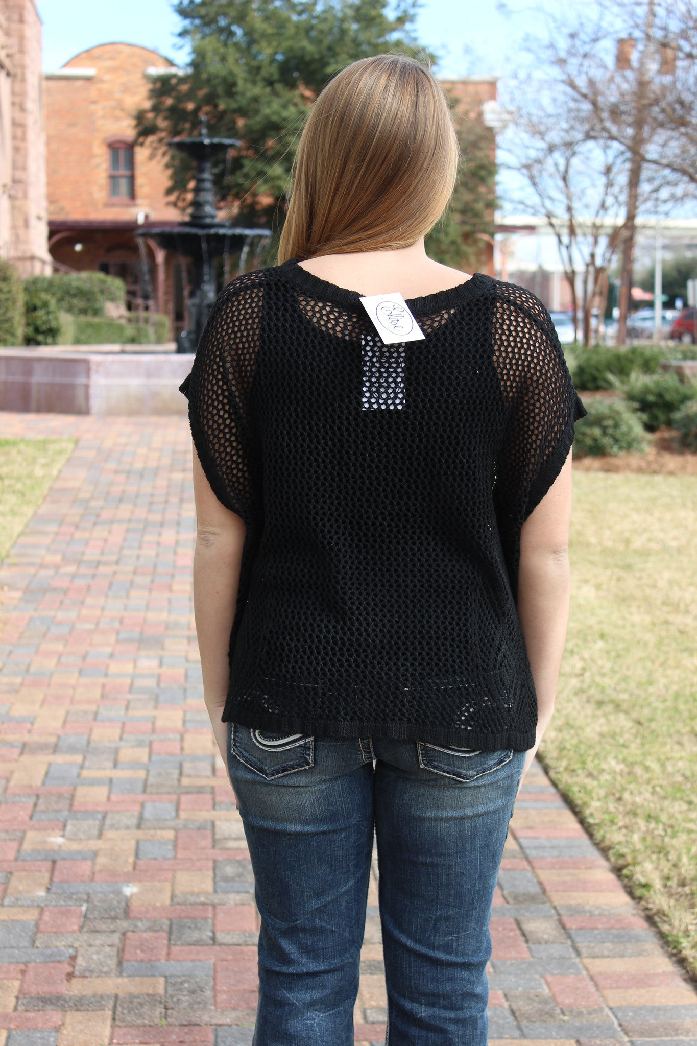 Nora Top, Black