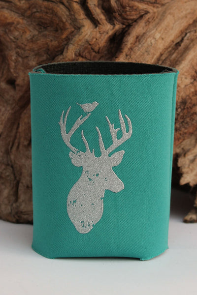 Judith March: Deer Season Can Cooler, Teal