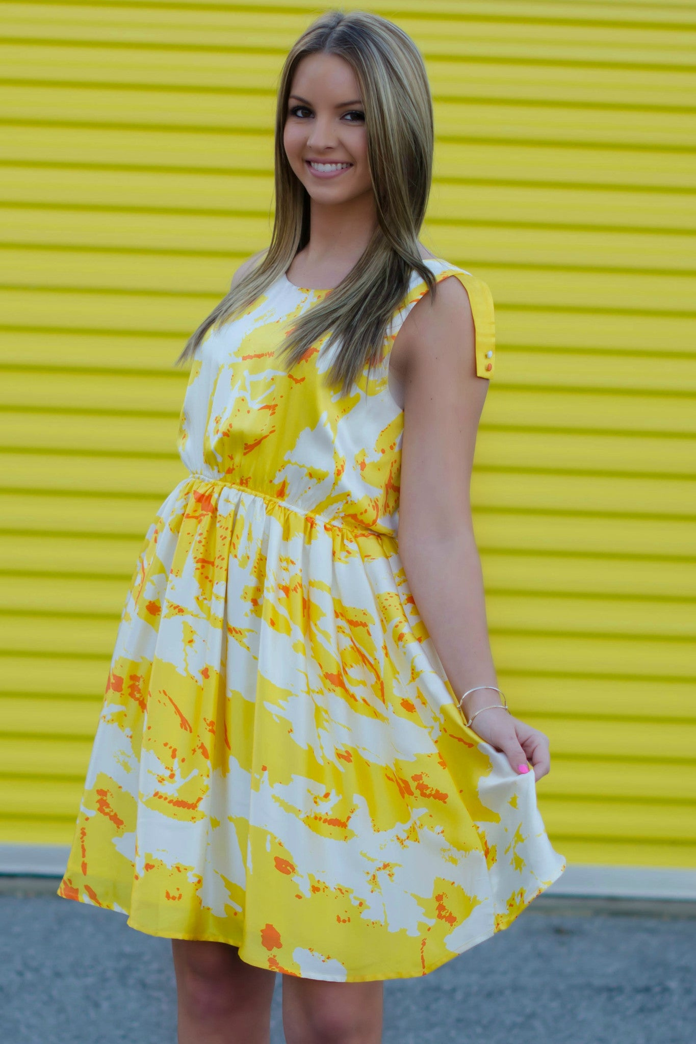 By Smith: Limone Dress, Yellow